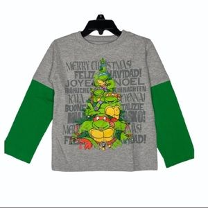 TMNT Graphic Long Sleeves T-Shirt 2T NEW